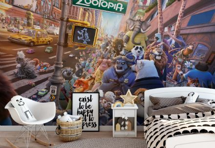 "Disney ""Zootropolis"" Non-Woven photo wallpaper"